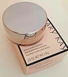 Mary Kay 040985 Mineral Powder Foundation IVORY 2 powder new in box