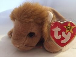 Rare Many Factory Errors Beanie Baby Roary In Awsome Condition. Nmwt