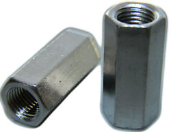 Stainless Steel Threaded Rod Hex Coupling Extension Nuts 1/2-13 Qty 1000