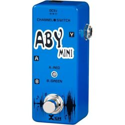 XVive V12 ABY Mini Footswitch Guitar Pedal