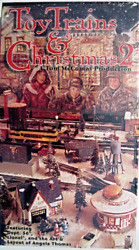 Toy Trains And Christmas 2 Vhs Dept 56 Lionel The Art And Layout Of Angela Thomas