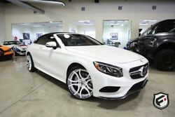 2017 Mercedes-Benz S-Class S 550 Cabriolet 2017 Mercedes S550 Cab. Owned by Shaquille O'Neal Custom Built Low Miles!!!