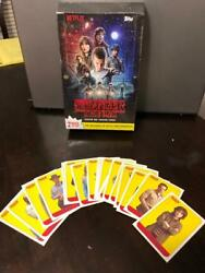 Topps Stranger Things Season 1 Character Stickers complete 1-20