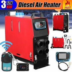 3KW 12V Auto Air dieselS Heater Remote LCD Monitor For Trucks Boats Bus Car Q2