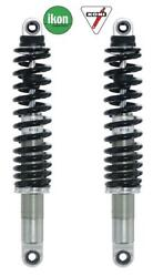 Ikon Koni 7614 Chrome/black Motorcycle Shock Absorbers Triumph Rocket Iii 2008