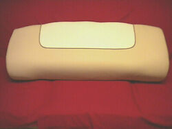 Nautic Star Deluxe Leaning Post Boat Seat Cushion Cream And Beige 415169