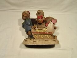 Tom Clark Tim Wolfe Cairn Christmas 1996 Cairn Gnome 25 New Never Displayed