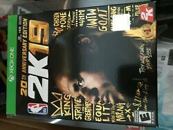 Nba 2k19 20th Anniversary Edition For Xbox One 2019 - Brand New, In Hand