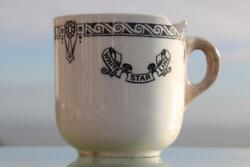 White Star Line Rms Olympic Era Pattern 2nd Cl Demitasse Coffee Cup 20's A/f 1.