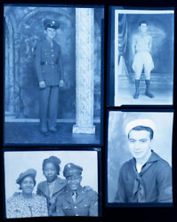U.s. Military Wwii African American/ Other Negative Collection. 58 Negatives.