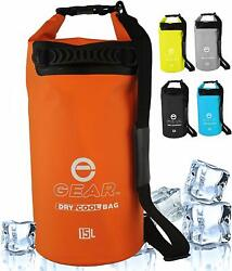 New Enthusiast Gear Insulated Backpack Cooler/ Waterproof Dry Bag - 15l