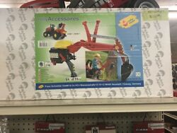 Rolly Toys Backhoe For Pedal Tractor