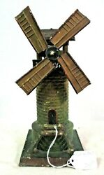 Doll Windmill Prewar Antique Model Trains Layout Parts And Accessories Toys B3-1