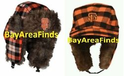 2 San Francisco Giants Two Flaps Down Cap 2016 And 2017 Sga Winter Hunting Hat