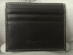 Dooney & Bourke Genuine Leather Credit Card Holder - Brand New w Tags