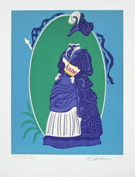 Anne The Mother Of Us All, Limited Edition Lithograph, Robert Indiana