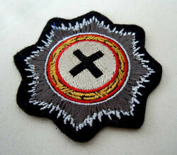 Ww2 German Military Knight Embroidery Edition Cross Badge Medals