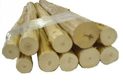 10- 24 Med Furniture Logs, Handpeeled Pine, Kiln Dried Use Your Tenon Cutter