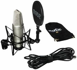 Rode NT2A Anniversary Vocal Condenser Microphone Package MultiColored