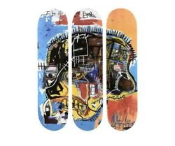 Jean Michel Basquiat Skateboard Art The Skull Rare And Sold Out