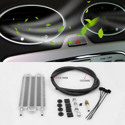 Universal Car Auto Tube AC Air Conditioning Condenser Set Silver Aluminum Alloy