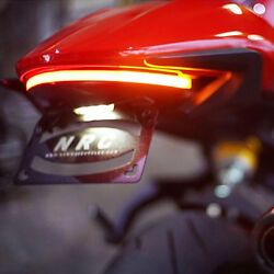 Ducati Monster 821 And039stealthand039 Fender Eliminator Kit 2014-2016 -new Rage Cycles