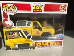 Funko Pop Rides Pizza Planet Truck Toy Story Nycc 2018 Exclusive.