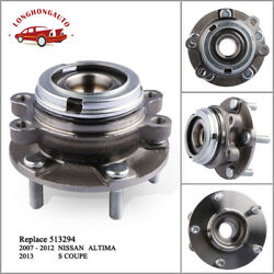 Front Wheel Hub Bearing Assy Work For 07-12 Nissan Altima Scoupe Fwd 2.5l