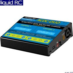 Common Sense Rc Acdc-duo Two-port Multi-chemistry Balancing Charger Lipo/life/l