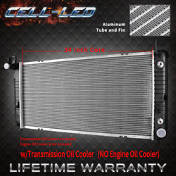2423 34and039and039 Radiator For Chevrolet Gmc Silverado Sierra Tahoe 4.8 5.3 Fastandfree