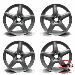 Set Of 4 Mercedes Cl And S Class 2009-2013 Factory Oem Staggered Amg Wheels Rims