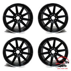 Set Of 4 Mercedes Cls550 E63 2012-2016 19 Factory Oem Staggered Wheels Rims