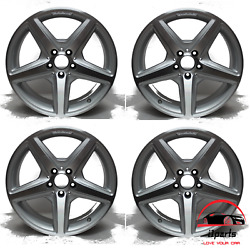 Set Of 4 Mercedes Cls550 Cls400 2012-2018 18 Factory Oem Staggered Wheels Rims