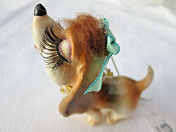 Katherine's Collection Beagle Kissing Dog Puppy Christmas Ornament NEW