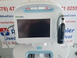 Welch Allyn Connex 64nxxx Touch Screen Monitor W Braun 4000 Thermometer -add On