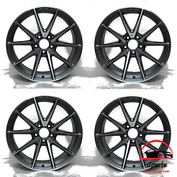 Set Of Mercedes C-class C63 2017 2018 2019 18 Factory Oem Staggered Wheels Rims