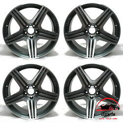 Set Of 4 Mercedes Cls-class 2012-2014 19 Factory Original Staggered Wheels Rims