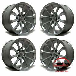 Set Of 4 Cadillac Cts V 2016 2017 2018 2019 19factory Oem Staggered Wheels Rims