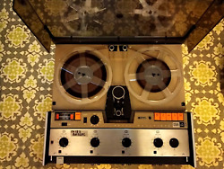 Lot - Racal Reel To Reel Recorder Store 4d - Heads, Manual, Boards, Carry Case