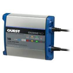 Guest On-board Battery Charger 10a 12v 1-bank 120v 2710a