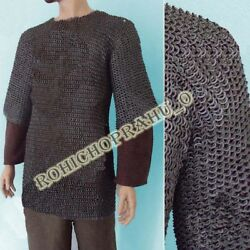 Large Size Flat Riveted Flat Washer Chainmail Shirt Chain Mail Haubergeon Sd2mj