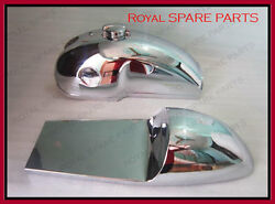 Benelli Mojave Cafe Racer 260 360 Chrome Petrol Tank With Seat Hood