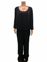 Joan Rivers Regular Length Jersey Knit Jumpsuit with 34 Sleeves 3X Size QVC