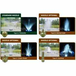 Matala Floating Fountain System With Type A Fountain Nozzle
