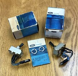 Nos Ford C9zz-15a214-a 1969-70 Shelby Gt 350/500 Console Toggle Switches. Pair