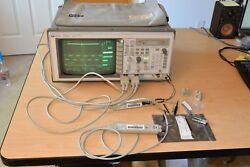 Hp 54520a 500 Mhz Digital Oscilloscope 1gs/s 2 1141a 200mhz Differential Probes