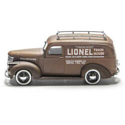Classic Die-cast Lionel Panel Train House Delivery 1946 Chevy Truck 148 Scale