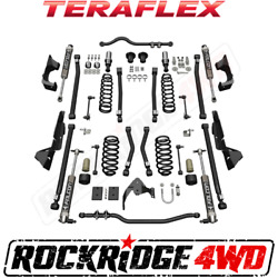 "Teraflex Jeep Wrangler JKU 4-Door Alpine CT4 Suspension 4"" Lift Falcon 2.1 Shock"