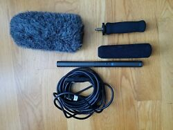 Audio-Technica AT897 Shotgun Condenser Microphone Package - Lightly Used