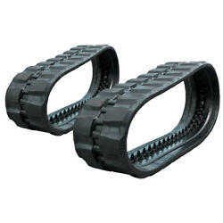 Pair Of Prowler Rubber Tracks For John Deere Ct333d Rd Tread - 450x86x56 - 18